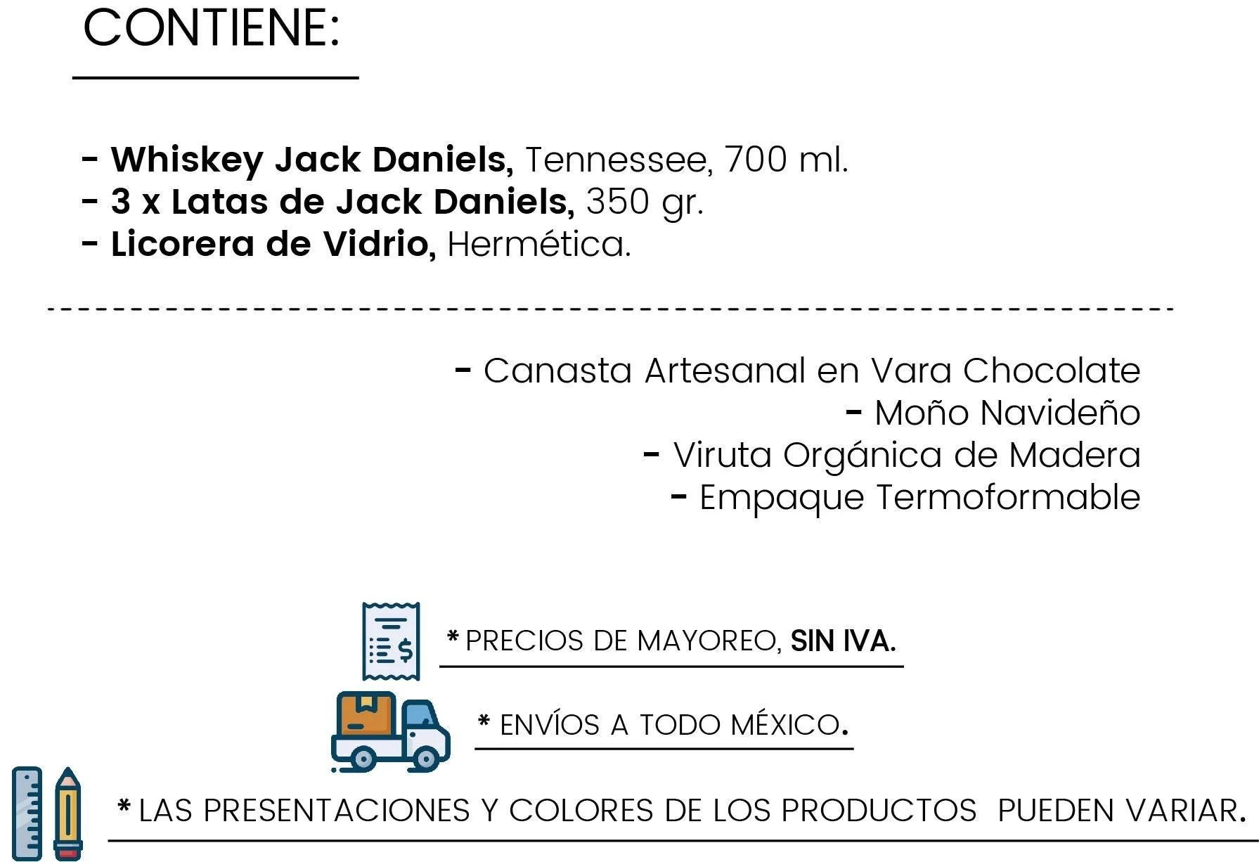 Contenido Jack's Desire by Tienda de Canastas