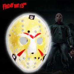 Máscara Película Viernes 13 Ecuador Comprar Venden, Bonita Apariencia ideal para los fans de viernes 13, practica, Hermoso material plástico Color amarillo Estado nuevo