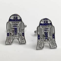 gemelos Star Wars peliculas bisuteria R2D2 La guerra de las galaxias cinéfilo tienda friki