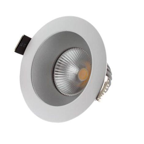 Foco-downlight-LED-ArumLED-Round-Silver-10W