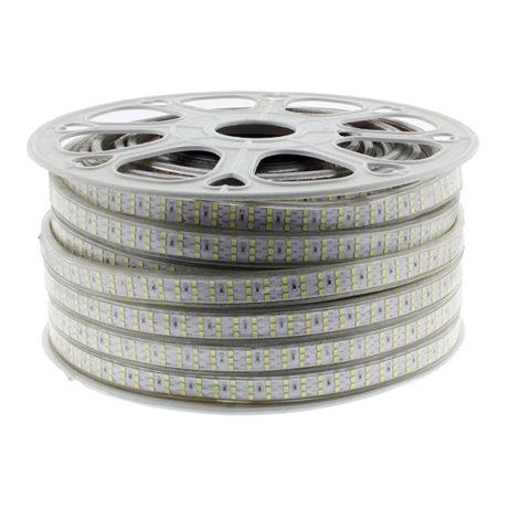 Tira-de-LED-220VAC-SMD2835-276LEDm-21Wm-Blanco-Frío50-metros