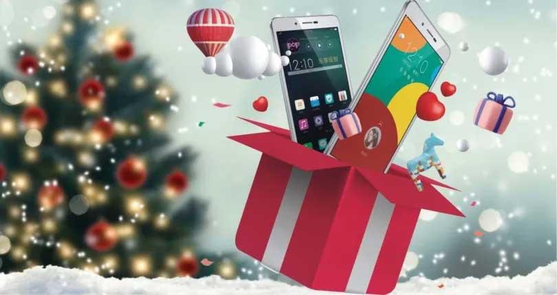 Regala un smartphone estas navidades