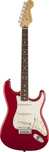 Limited Edition American Standard Stratocaster Channel Bound, Rosewood Fingerboard, Dakota Red