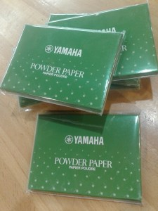 YAMAHA POWDER PAPER