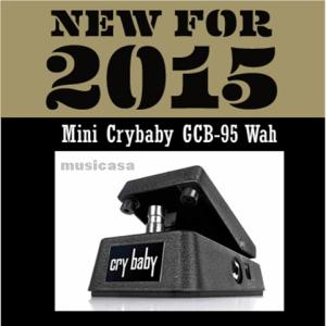 nuevo pedal de Dunlop Crybaby mini