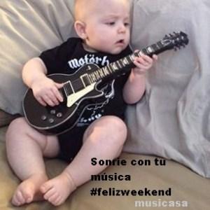 Sonrie con tu música #felizweekend