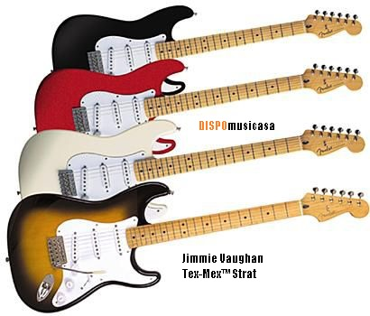 Jimmie Vaughan Tex-Mex™ Strat ABANICO COLOR