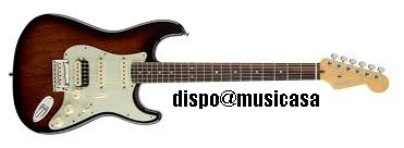 LTD EDITION AMERICAN DELUXE MAHOGANY STRATOCASTER HSS B