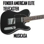 Fender American Elite Telecaster RW, Aged Cherry Burst. black