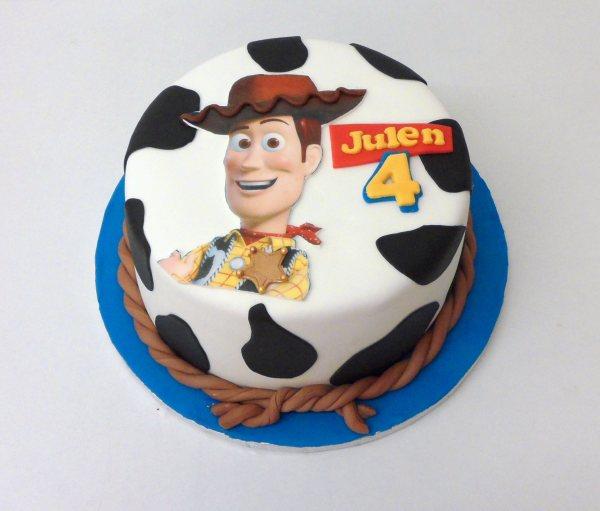 Tarta Toy Story Woody en oblea 2d