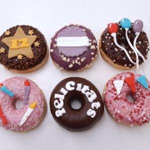 Donuts cumpleaños pack de 6