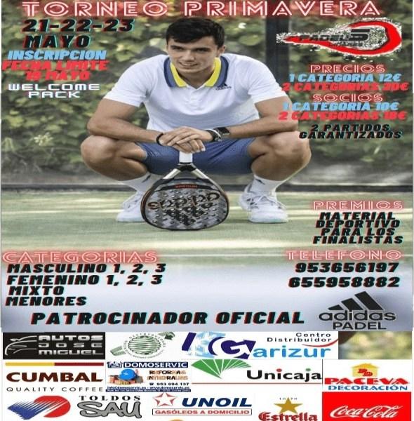 Torneo de Primavera Padel5 Linares