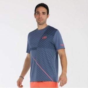 camiseta-bullpadel-cache-azul-acero