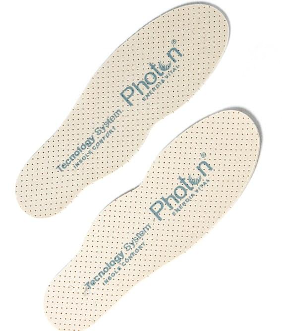 plantilla confort photon para dar relax y aliviar sobrecalentamiento de la planta del pie