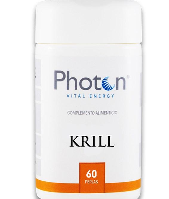 aceite de krill Photon perlas fuente rica de omega 3