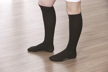 media de compresion suave photon ideal para el descanso de piernas cansadas