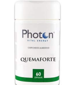 QuemaForte Photon 60 Cápsulas, excelente coadyuvante en dietas y control de peso, con efecto termogénesis, formulado en cápsulas.