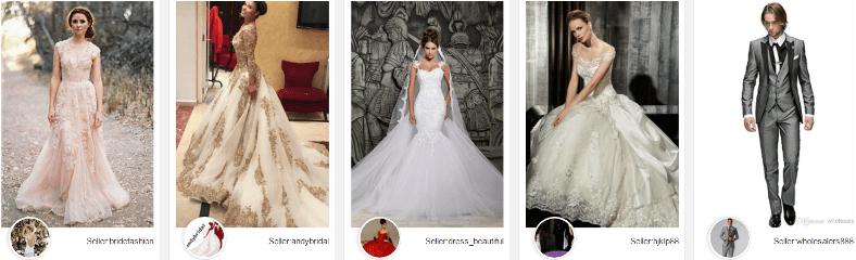 vestidos de novia baratos y elegantes dhgate