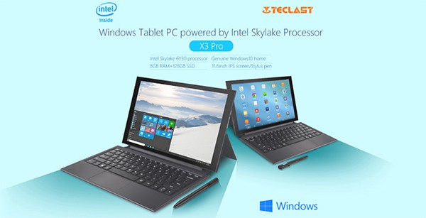Teclast X3 Pro las mejores tablets chinas