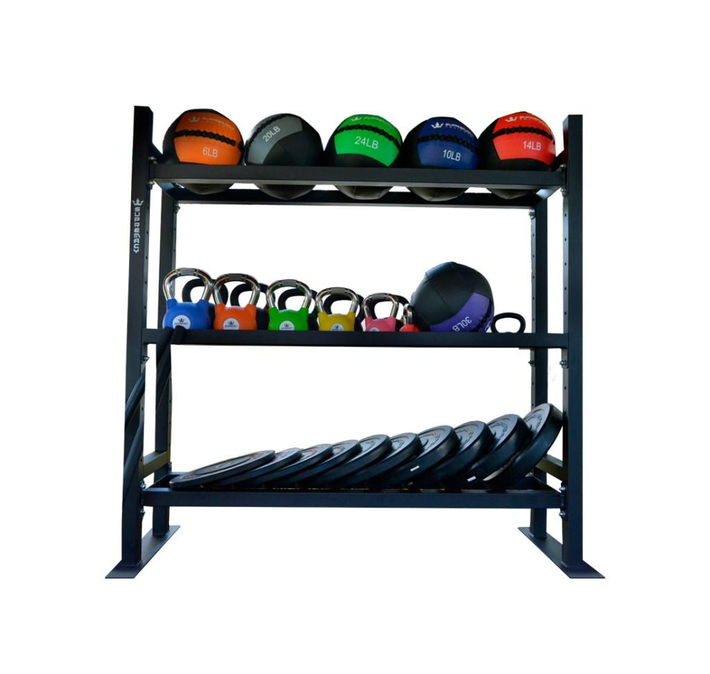 Soporte para balones pesas y discos