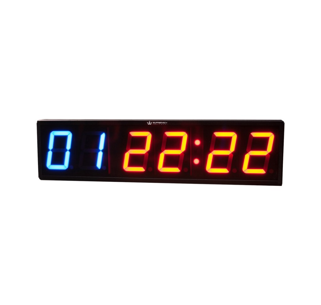 Cronometro de pared para gimnansio