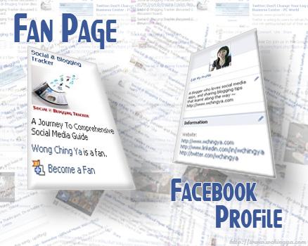 Fanpage hay profile: bạn lựa chọn tài khoản nào?