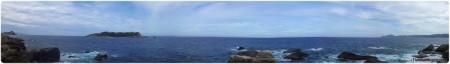 Biển Đông – góc nhìn từ Mũi Đôi. Click để xem ảnh phóng to.