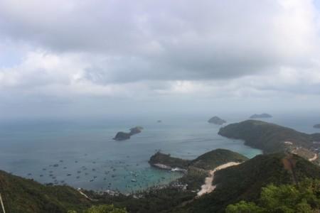 Một góc khác của hòn đảo.