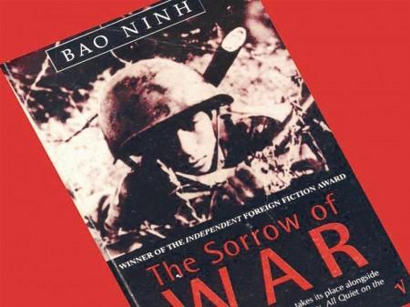 The Sorrow of War (cuốn tiểu thuyết phiên bản tiếng Anh). Nguồn ảnh: Internet.