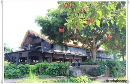"""""""Bảo tàng về cafe"""" ở làng cafe Trung Nguyên."""