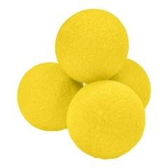 4 Bolas de Esponja Ultra Suaves de 4,5cm