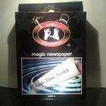 truco magia infantil agua en el periódico