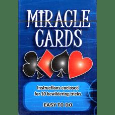 baraja biselada miracle cards