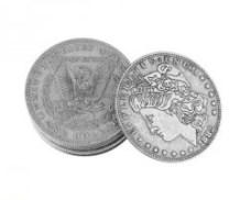 monedas de medio dólar Morgan