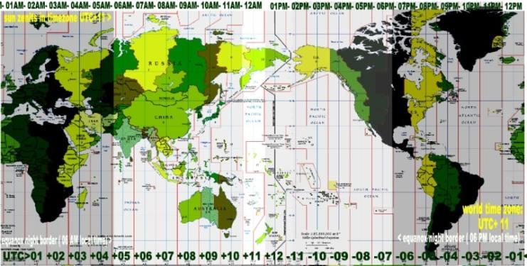 Cách đổi giờ UTC sang giờ Việt Nam