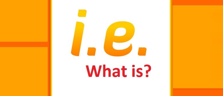I.E là gì? I.E coin là gì? tìm hiểu về tất cả ý nghĩa của I.E