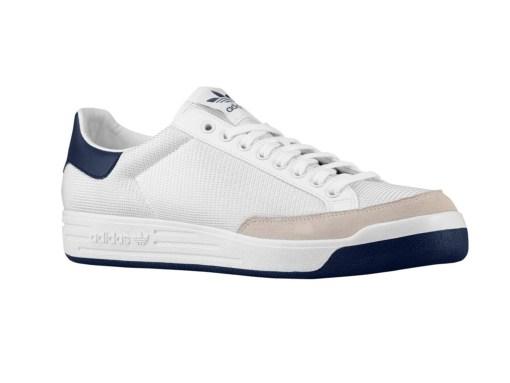 Zapatillas-Rod-Laver-Hombre-blanco-azul Tenis