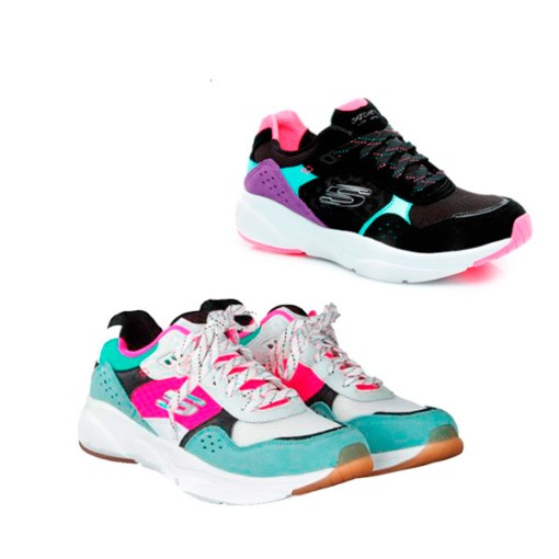 Zapatillas Skchers Meridian Charted Mujer
