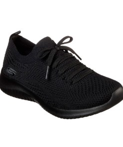 Tenis-Zapatillas-Skecher Mujer-Negro-Dark-Mod-2020-Running