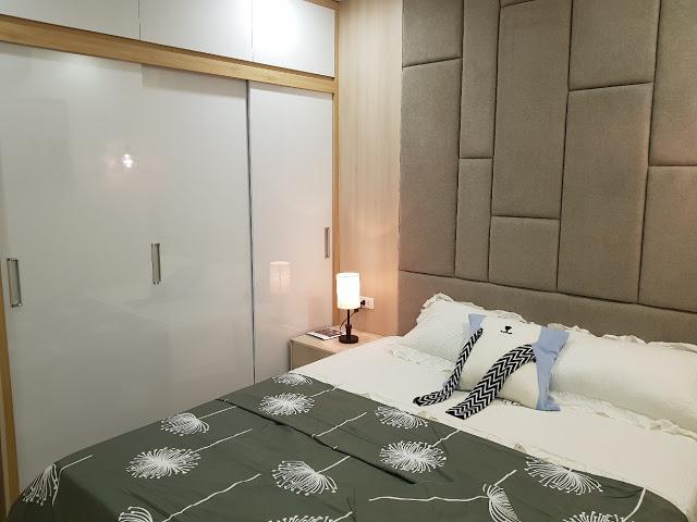 Phòng ngủ Master với nhiều nội thất cao cấp