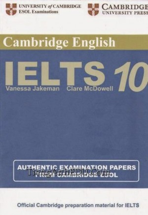 Practice Tests for IELTS 10
