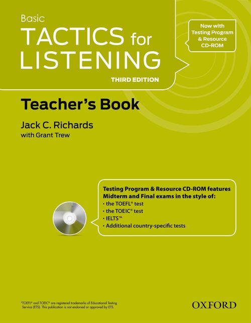 Basic Tactics for Listening 3 Edition Teacher's Book (PDF)