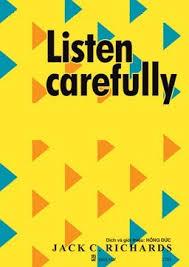 listening carefully