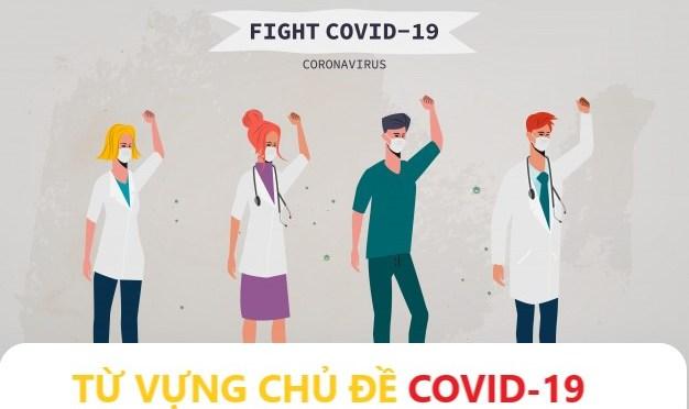 TỪ VỰNG CHỦ ĐỀ COVID-19.
