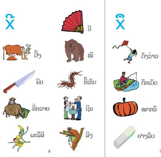 Các phụ âm tiếng Lào