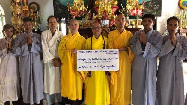 Nhóm Tăng sĩ Phật giáo đồng hành tuyệt thực cùng ông Trần Huỳnh Duy Thức - Lo lắng về ông Trần Huỳnh Duy Thức 'tuyệt thực trong tù'