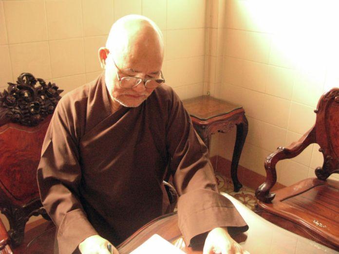 Hiện tình sức khỏe Đức Tăng Thống Thích Quảng Độ đã khả quan, không quá bi quan như qua video của TT Thích Vĩnh Phước.