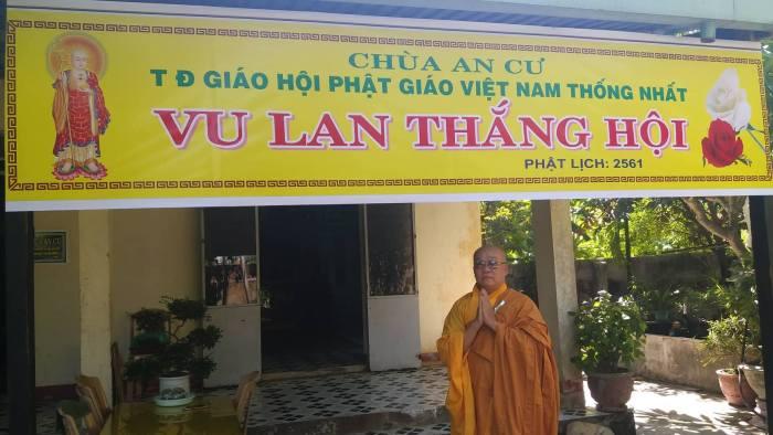 Dẹp chùa An Cư: Mục đích chính chỉ để triệt hạ các cơ sở của Giáo hội Việt Nam Thống Nhất.