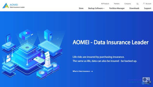bộ phần mềm AOMEI miễn phí
