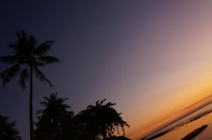 Lombok-Sonnenuntergang